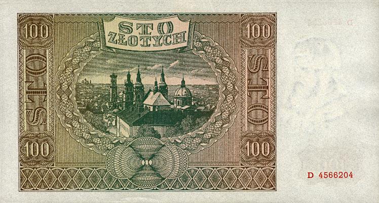 Generalna Gubernia 100zl 1941 1