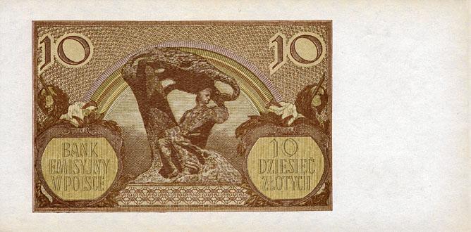 Generalna Gubernia 10zl 1940 1