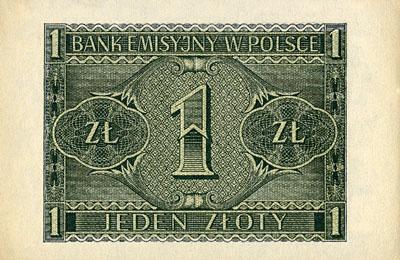 Generalna Gubernia 1zl 1941 1