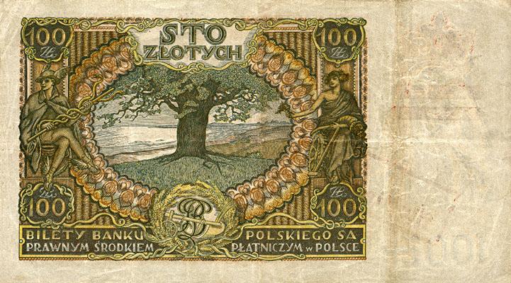 Generalna Gubernia1939 100zl 1