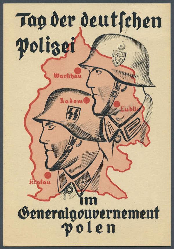 Tag der Deutschen Polizei im Generalgouvernement 1941