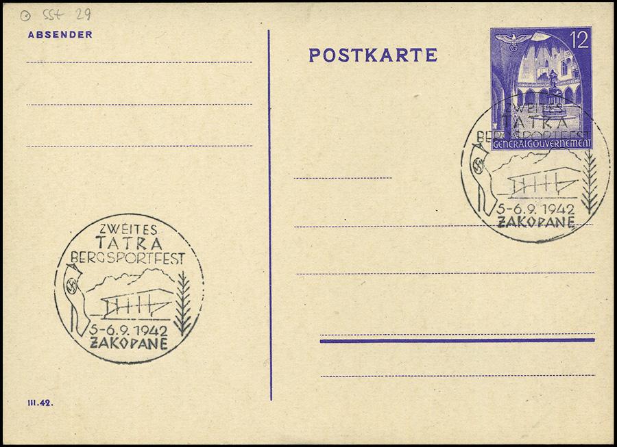 Kasownik 23 Zweites Tatra Bergsportfest 5 - 6. 9. 1942