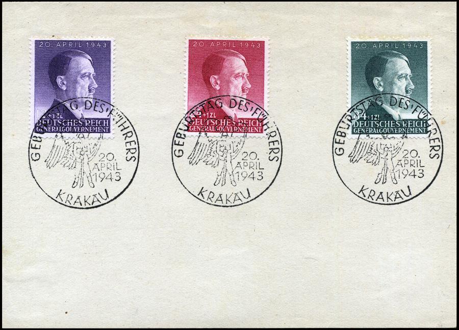 Kasownik 30 - Geburtstag des Führers 20 April 1943 Krakau