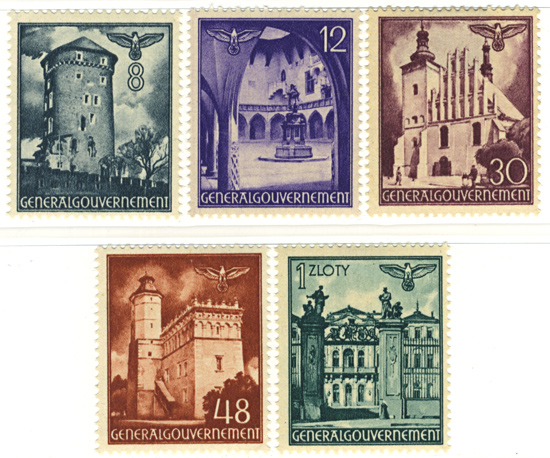 Seria 66-70 1941, 8 września. Widoki zabytkowych budowli