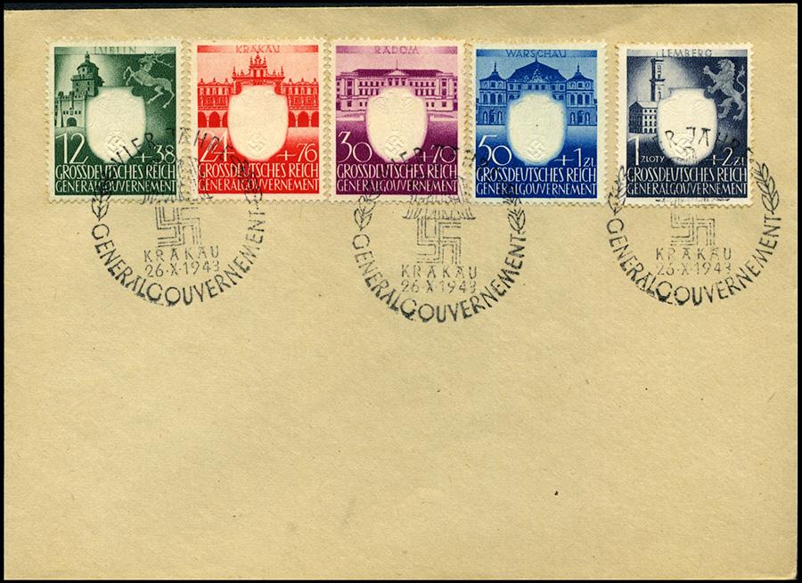 Kasownik 34 - Vier Jahre Generalgouvernement Krakau 26. X. 1943