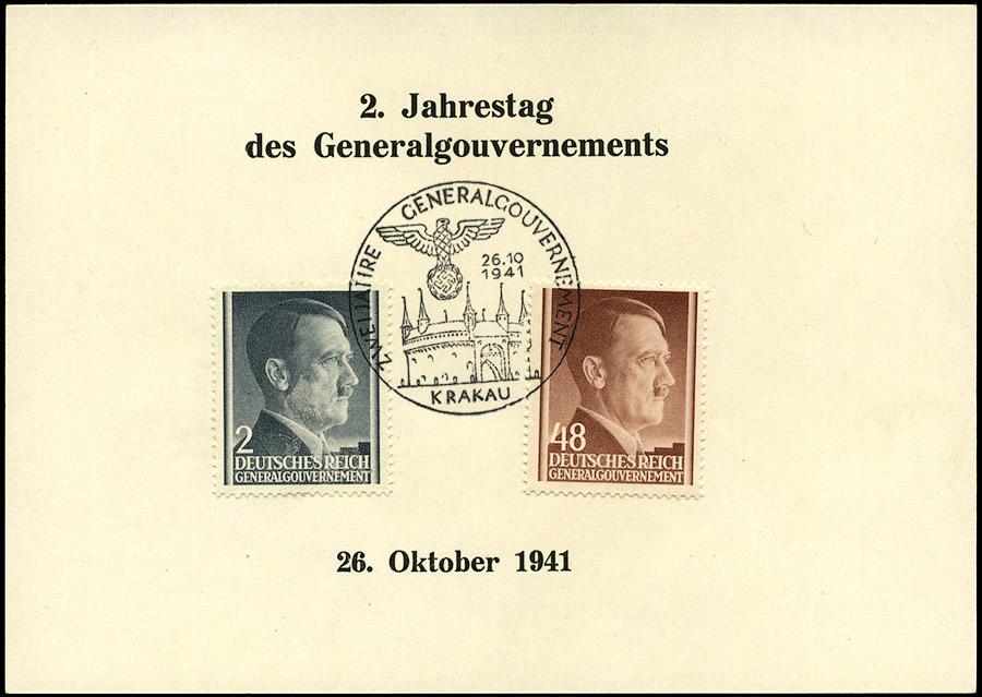 Kasownik 14. Zwei Jahre Generalgouvernement 26. 10. 1941 Krakau