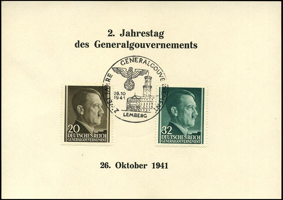 Kasownik 15 Zwei Jahre Generalgouvernement 26. 10. 1941 Lemberg