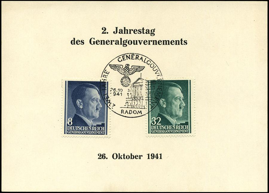 Zwei Jahre Generalgouvernement 26. 10. 1941 Radom