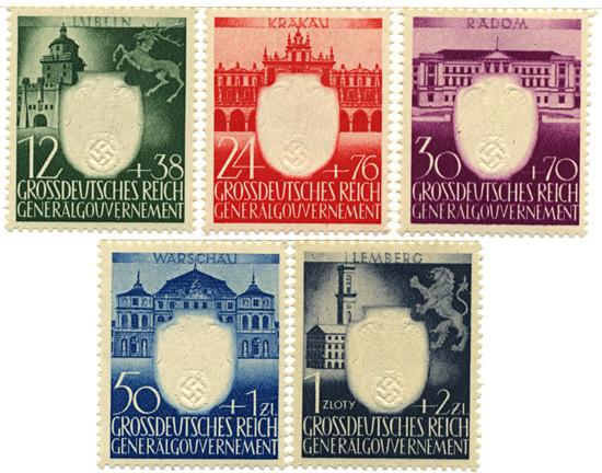 Seria 105-109 1943, 14 sierpnia -14 września. 3 rocznica NSDAP w Generalnym Gubernatorstwie