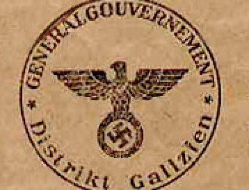 Przyłączenie Galicji do Generalnego Gubernatorstwa