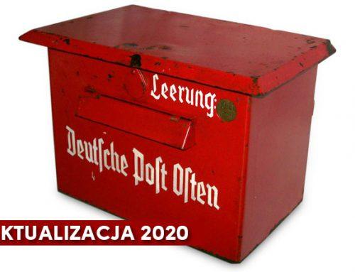 Skrzynki pocztowe Deutsche Post Osten