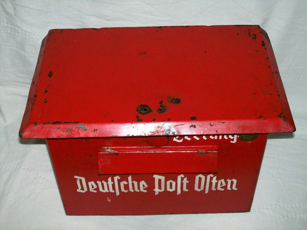 Skrzynka Pocztowa Deutsche Post Osten