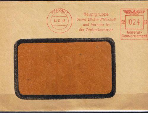 Frankatury mechaniczne Deutsche Post Osten