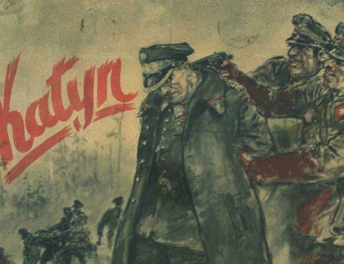 13 IV 1943 Niemcy informują o mordzie w Katyniu