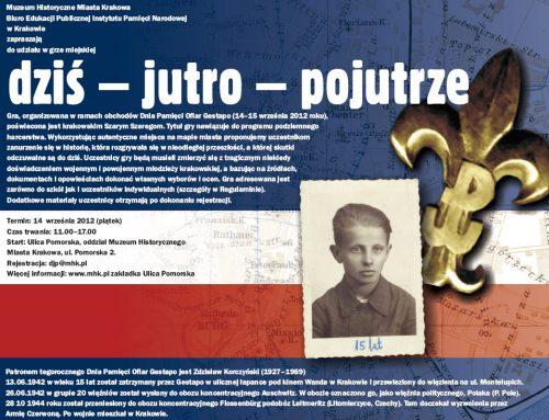 Krakowski Dzień Pamięci Ofiar Gestapo