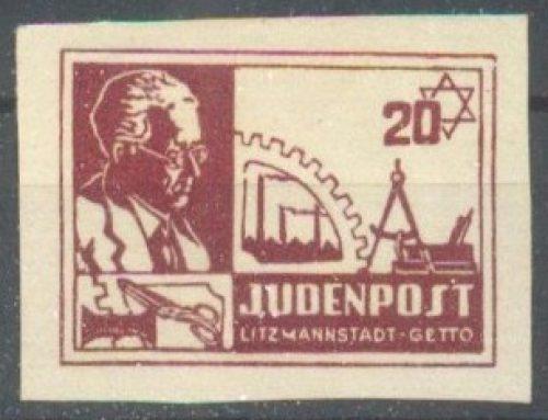 Poczta w getcie łódzkim – całostki z lat 1940-42