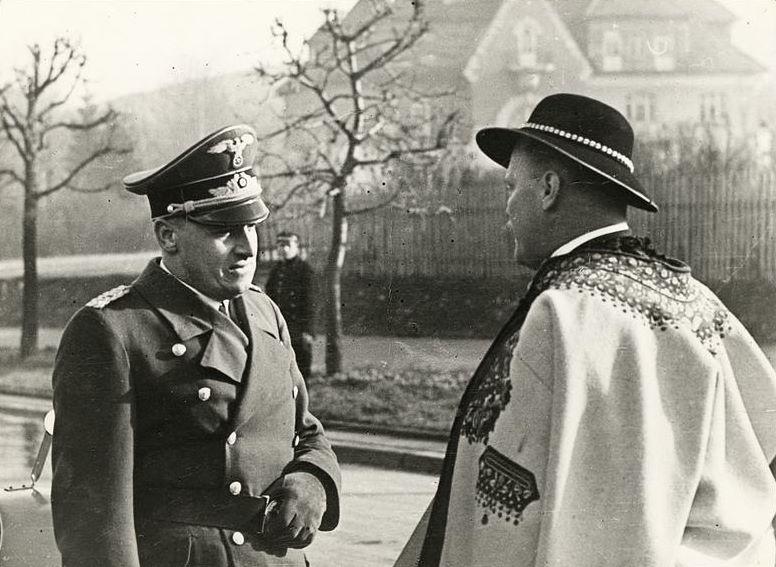 H Frank i Waclaw Krzeptowski 1