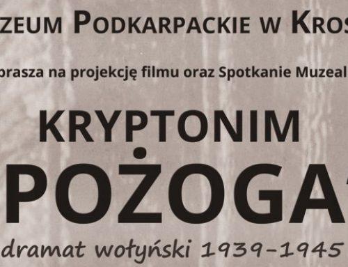 """Pokaz filmu """"Kryptonim »Pożoga«. Dramat wołyński 1939–1945"""" – Krosno, 27 marca 2014"""