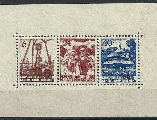 Fałszywe znaczki i kasowniki Generalnego Gubernatorstwa