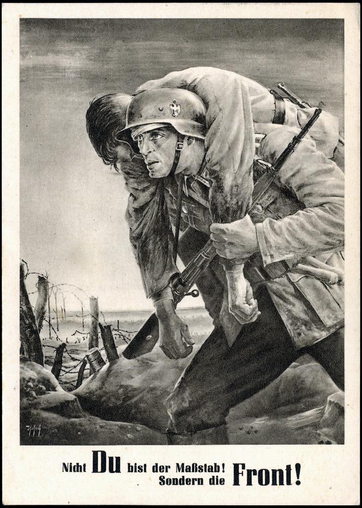 Karta propagandowa Tag der NSDAP des Generalgouvernements Krakau 13-15 August 1943r.-0