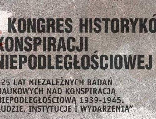 I Kongres Historyków Konspiracji Niepodległościowej 12-13.11.15 Toruń