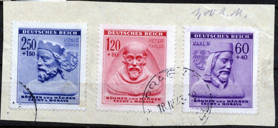 Protektorat Böhmen und Mähren - Mi. 114-115 1943