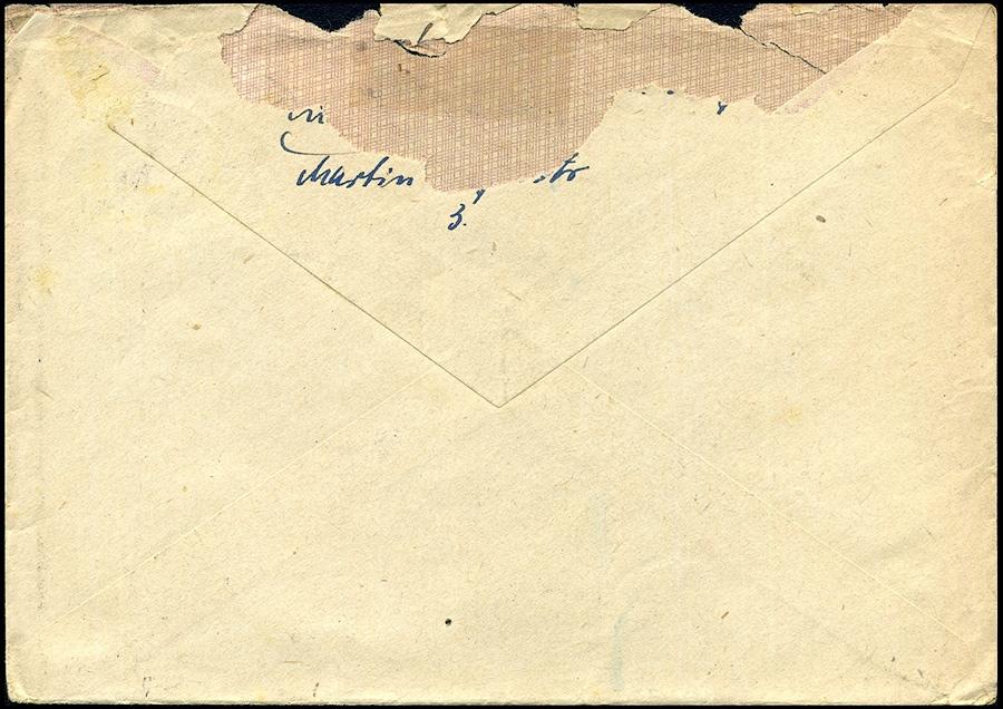 Generalgouvernement Brief BISKUPICE N. WIEPRZEM 1943 Mi. 117