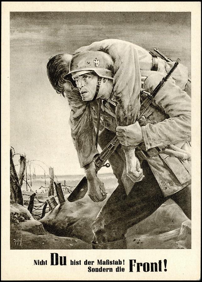 3rd REICH - Generalgouvernement POSTCARD Tag der NSDAP 1943