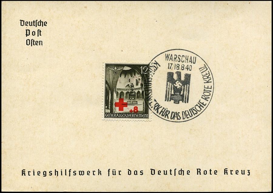 Komplet kasowników nr 4 Kriegshilfswerk fur das deutsche Rote Kreuz 1940