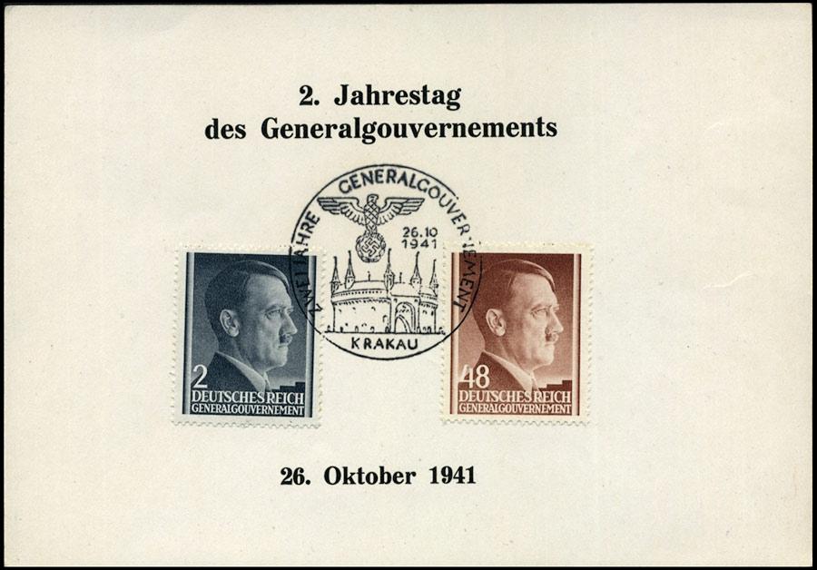 SST - Kasownik nr 14 - Zwei Jahre Generalgouvernement Krakau 1941