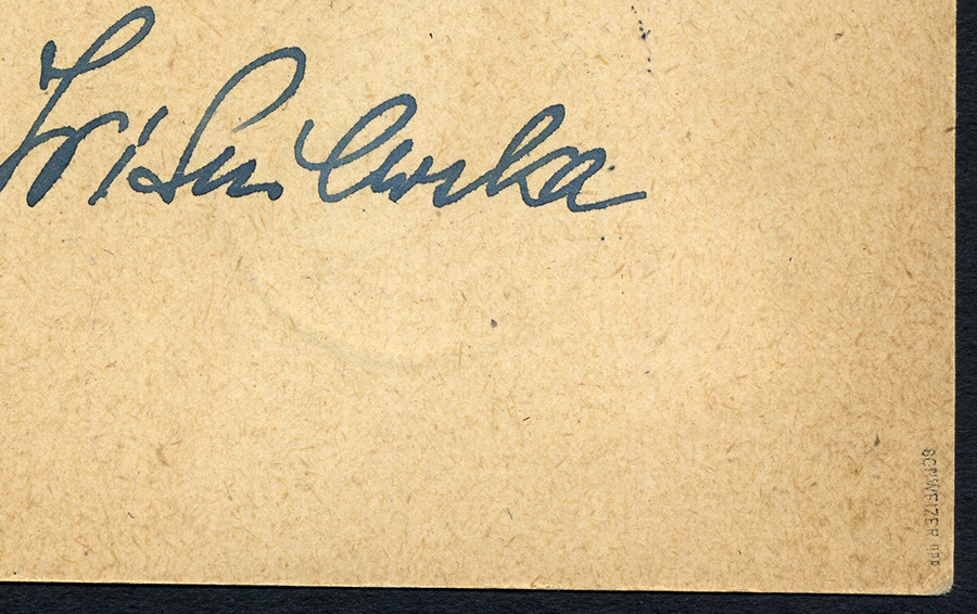 Całostka Cp. 9B LIST ŻEBRACZY gw. Schweizer, cenzury Warschau - Stockholm 1944