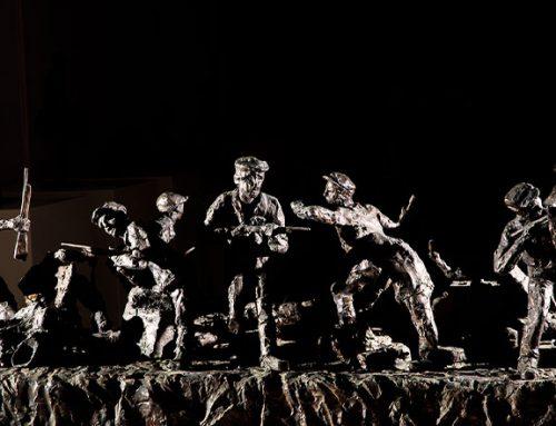 """Rzeźby """"Obraz Treblinki w oczach Samuela Willenberga"""""""