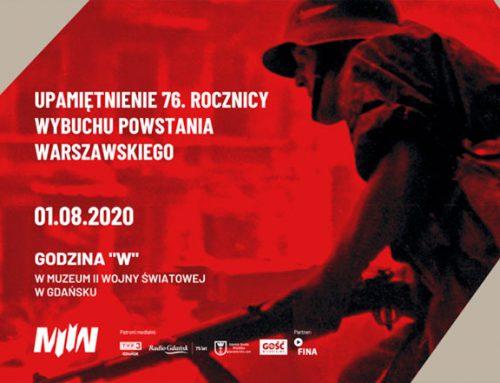 Obchody 76 rocznicy wybuchu Powstania Warszawskiego w Muzeum II Wojny Światowej