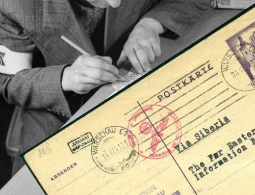 Korespondencja pocztowa w Getcie warszawskim