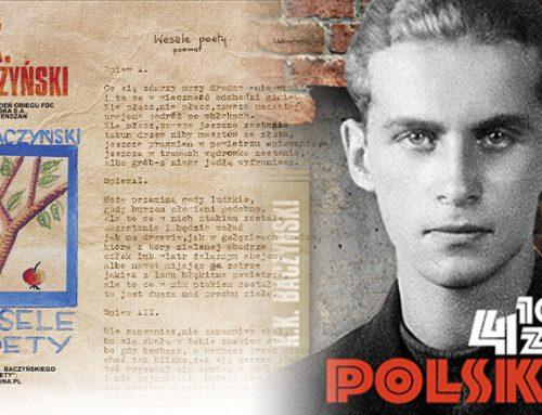 Setna rocznica urodzin Krzysztofa Kamila Baczyńskiego na znaczku pocztowym