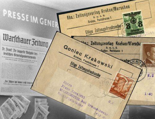 Opaski gazetowe / Zeitungsstreifband / Generalnego Gubernatorstwa